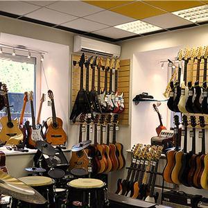 Музыкальные магазины Вохтоги